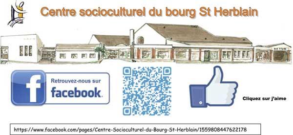 Facebook du centre socioculturel du bourg 2015