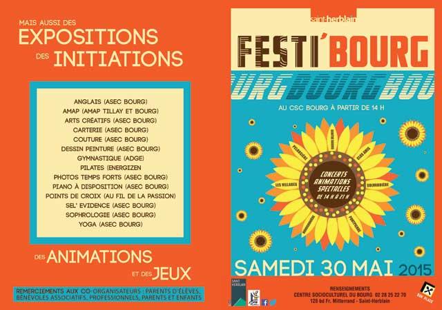 Affiche Festi Bourg 15